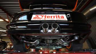 Vässad Porsche GT3 RS med svenskt avgassystem