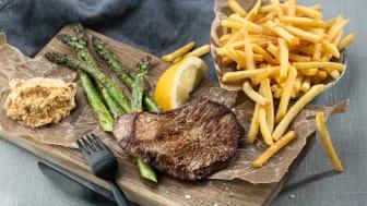 Köttkonsumtionen minskar - det svenska köttet ökar