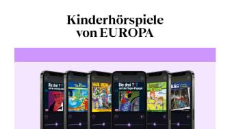 EUROPA Hörspiele bei BookBeat