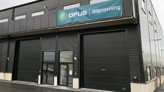 Opus Bilprovnings nya station i Malmö ligger på Borrgatan.