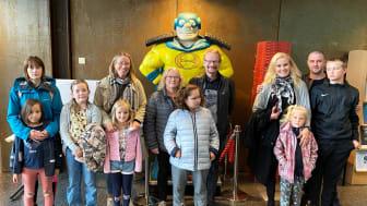 Helsingborgs Minimeringsmästare samlades för uppstartsträff på NSR:s huvudkontor. Fr v familjerna Sidorenko, Hertzman, Kruuse och Sundberg. (Några deltagare saknas på bilden)