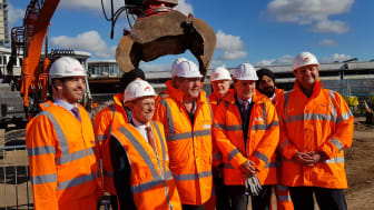 Partners gather at Wolverhampton station as full demolition gets underway
