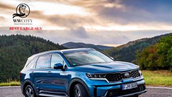 Titlen som bedste store SUV anerkender Kias produktteam, der har arbejdet hårdt for at sikre, at den nye Sorento er førende inden for SUV-segmentet