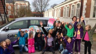 De nominerade bidragen i Region Skånes Eurovision School Contest är nu utsedda