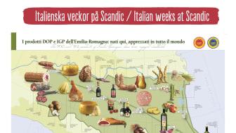 Det bästa av Italien på Scandic i september