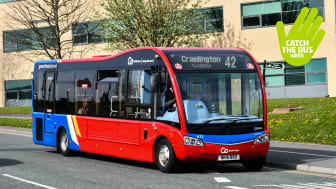 Get on board with Go North East this Catch the Bus Week