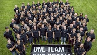 One team, one dream. Störst på möbler 2022.