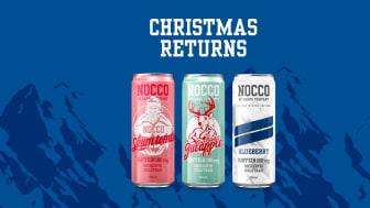 Christmas returns – NOCCO återlanserar tre vinterfavoriter
