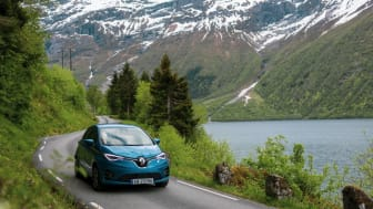 Renault ZOE bland de bästa i norskt elbilstest