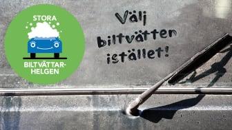 Genom att tvätta bilen på en biltvätt istället för hemma på gatan bidrar du till en bättre miljö. Tack för att du tar hand om vårt vatten!