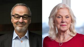 Örian Söderberg och Karin Starrin.