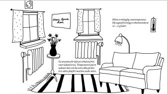 Undvik kalla lägenheter i höst och spara energi samtidigt