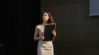 Maria Kausits at the 2013 Award Ceremony