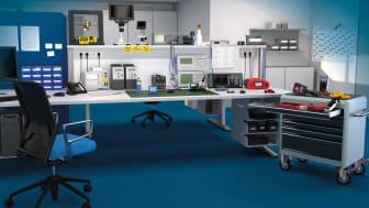 Oavsett om det gäller mobil eller stationär mätutrustning:  Conrad-sortimentet omfattar allt från elektrisk mätutrustning, metrisk och miljömätutrustning till strömförsörjning. Fotokälla: © Studio B12