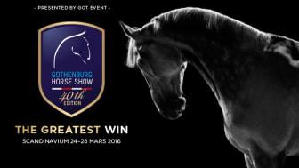 Gothenburg Horse Show - Programsläpp