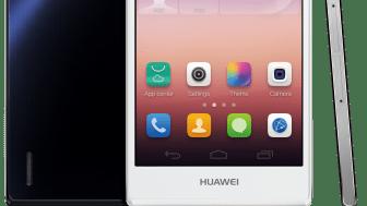 Huawei presenterar nya  flaggskeppsprodukten Ascend P7