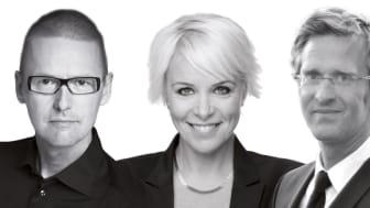 Elaine Eksvärd, Ari Riabacke, Mia Törnblom och Teo Härén är några av många föreläsare på Ekonomi & Företag.