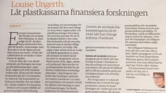 Debattartikeln publicerades i Icanyheter 11 november 2016.