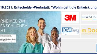 13.-14.10.2021: Entscheider-Werkstatt: Wohin geht die Entwicklung der Krankenhausinformationssysteme & Prüfung zum CHCIO