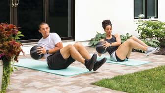 Pandemin fick den tränande delen av befolkningen att börja träna online samt ägna sig mer åt yoga, onlineträning och powerwalks.