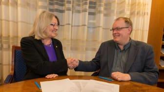 Ny sexårig överenskommelse om samverkan mellan SLU och Havs- och vattenmyndigheten