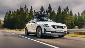 Polestar 2 kåret til 'Best All Rounder' i det årlige Electric Awards-nummer af BBCs Top Gear magasin