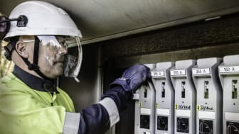 Arbeid på  elektriske anlegg