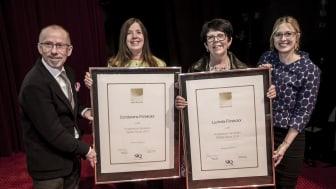 Condorens förskolor i Nacka och Lucksta Förskolor i Matfors tilldelas Kvalitetsutmärkelsen Bättre Skola 2014