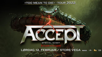 ACCEPT annoncerer deres 'Too Mean To Die' Europa turné