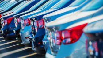Nyregistrerade bilar ökade med drygt 20 procent i januari