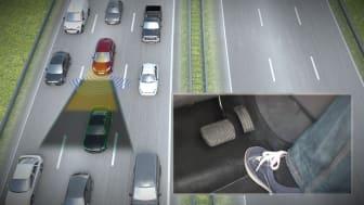 """Ford utvikler """"Køassistent"""" og ny parkeringsteknologi for å møte fremtidige trafikkutfordringer."""