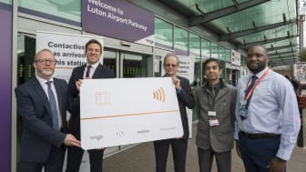 Pay as you go with contactless has been welcomed at St Albans, Harpenden and Luton Airport Parkway stations - MORE IMAGES AVAILABLE BELOW