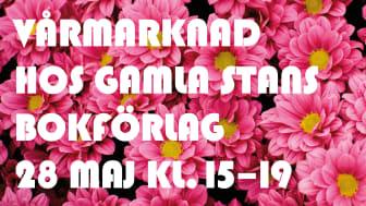 VÅRRUS hos bokförlagen i Gamla Stan 28 maj kl 15.00 - 19.00