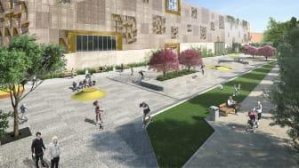 Invigningen av Kanalparken och streetplazan flyttas till nytt datum