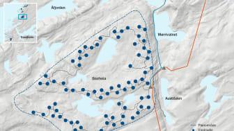 Kart Storheia vindpark