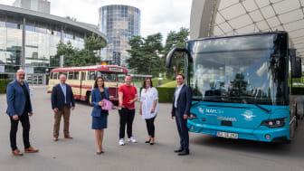 Der Niederflurbus Scania Citywide wurde feierlich in der Autostadt übergeben