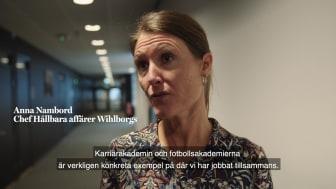 Tillsammans med MFF vill vi på Wihlborgs skapa mer samhällsnytta