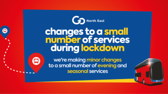 Changes to a small number of services during lockdown