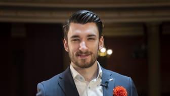 Darko Mitrovic, Unga Forskare-stipendit 2021