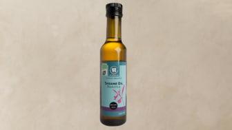 Takaisinveto Urtekram Sesame oil – paahdettu 250 ml, EAN Koodi: 5765228345368,  Parasta ennen päiväys: 30/04/2021,  Erätunnus: SEBGL90826