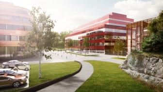 A Working lab i hjärtat av Chalmersområdet i Göteborg.  Bild: Tengbom Arkitekter