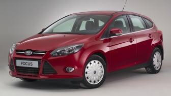 Ford presenterar nya Focus ECOnetic – Europas mest bränsleeffektiva kompaktbil