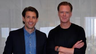 Joakim Pops, Webrick Ventures, och Magnus Stein, Lexly