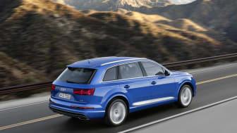 Audi Q7 sætter standarder inden for bl.a. betjeningskoncept, infotainment og tilslutningsmuligheder