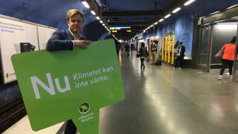 Tomas Eriksson (MP), gruppledare i Stockholms läns landsting