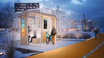Lund får uppvärmda torg och spårvagnshållplatser