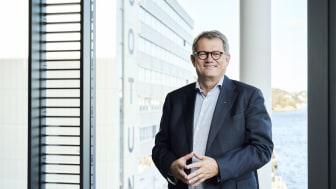 Jotun og konsernsjef Morten Fon rapporterer om gode resultater i 2020. Foto: Morten Rakke