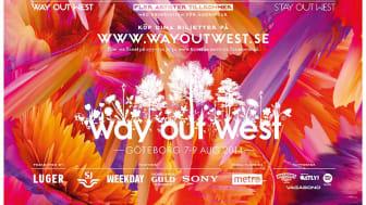 Way Out West 2014   7-9 Augusti. Slotsskogen
