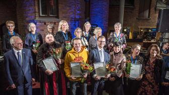 Utdelningsceremoni stipendiater 2019. Foto: Norska barentssekretariatet.