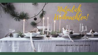 Natürlich, Weihnachten! Fröhliches Fest mit Rosenthal TAC und Junto